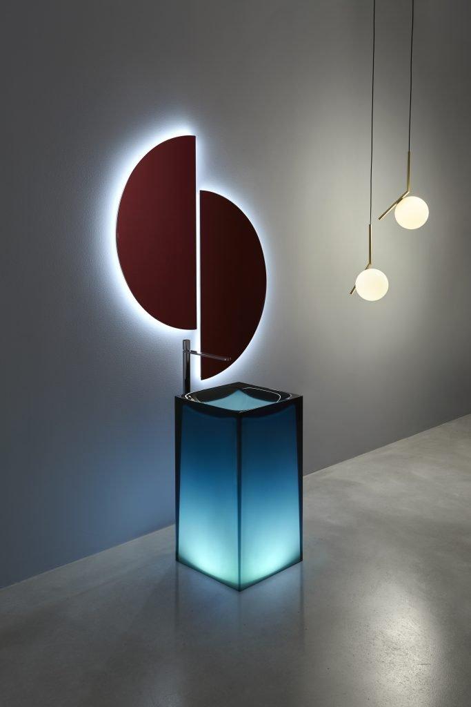 antoniolupi lavabo Aura design Marco Piva