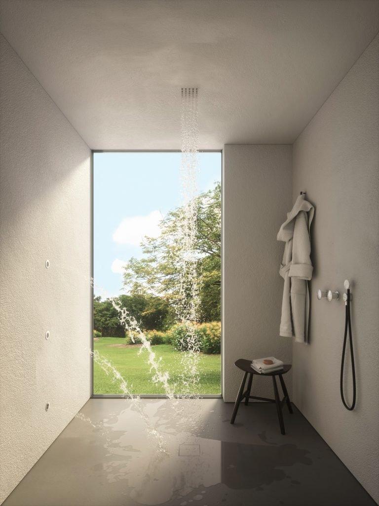 ANTONIOLUPI GHOST soffione doccia scompare nel soffitto