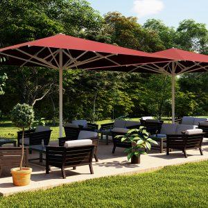 Magnum garden umbrella