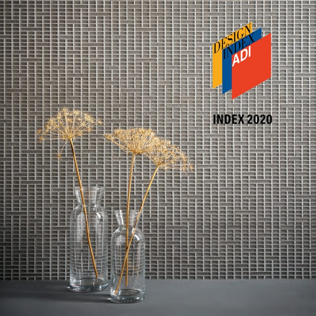 ADI DESIGN INDEX 2020 selected two Mosaico+ products